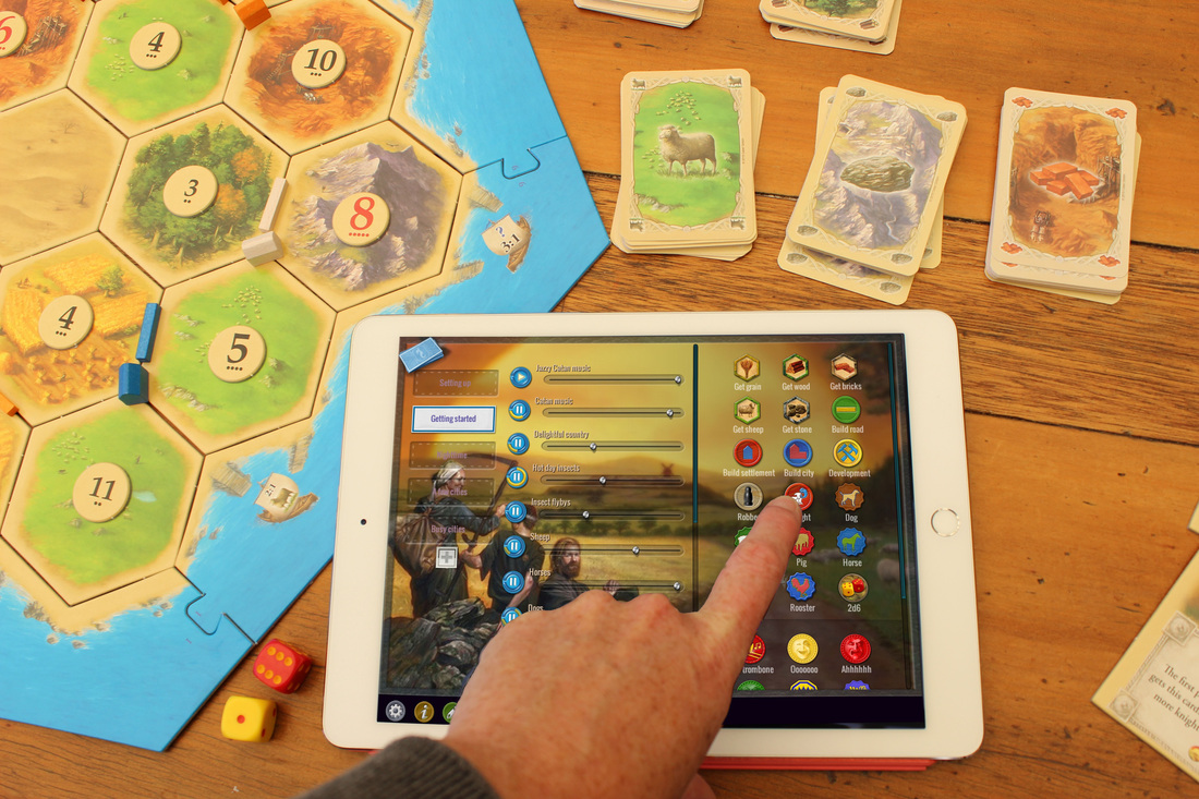 TABLETOP GAMES CATAN®, SPIKE, AND MORE COME TO LIFE WITH SOUND IN